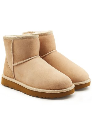 Classic Mini Suede Boots Gr. US 11