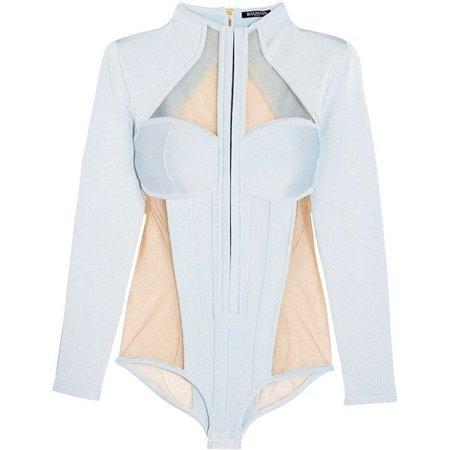 blue bodysuit light - Google Search