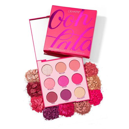 Ooh La La! Bright Pink Eyeshadow Palette | ColourPop
