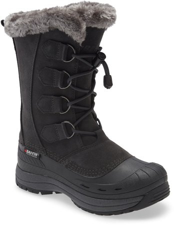 Chloe Waterproof Winter Boot with Faux Fur Trim