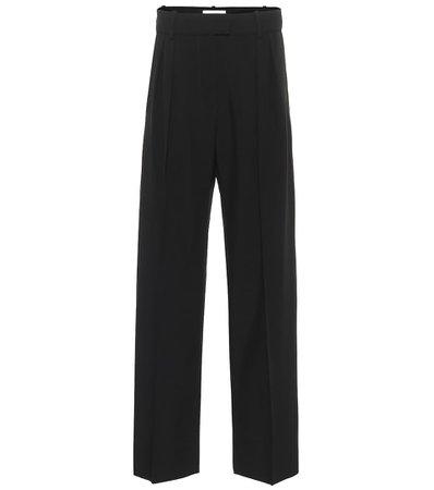 High-Rise Wool Pants - Valentino   Mytheresa