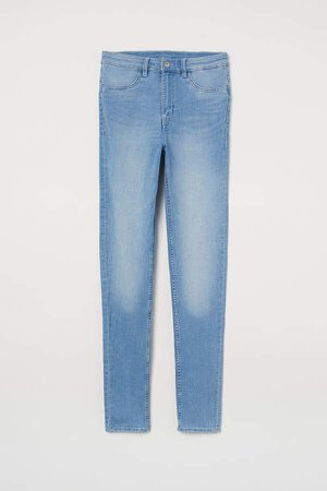 Super Skinny High Jeans - Blue
