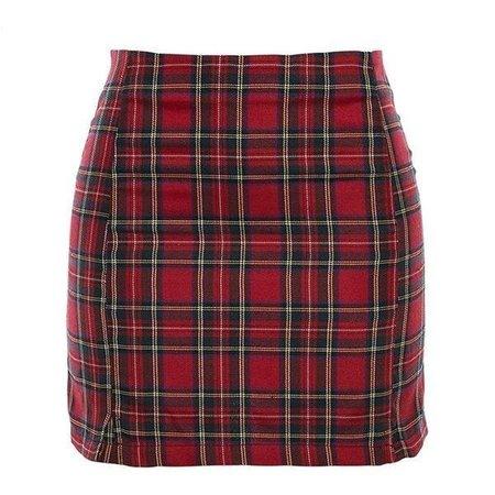 Casual Skirt Plaid | SHOPTERY | Tumblr skirts