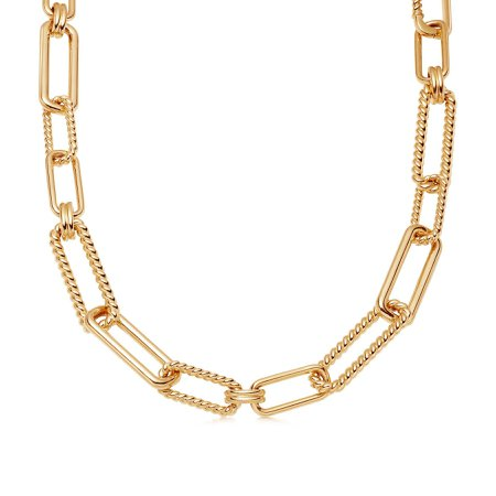 Gold Chunky Radial Chain Necklace | Missoma Limited