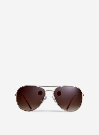 Gold Aviator Sunglasses | Dorothy Perkins