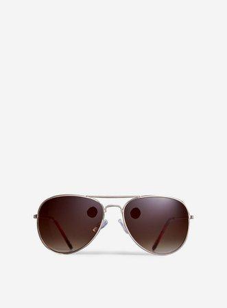 Gold Aviator Sunglasses | Dorothy Perkins