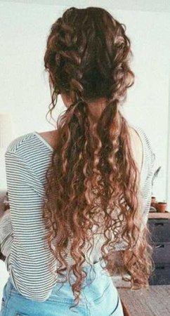 curly Dutch braids