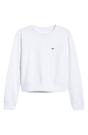 TOMMY JEANS Crop Sweatshirt | Nordstrom