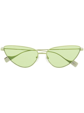 Balenciaga Eyewear cat eye sunglasses green BB0086S - Farfetch