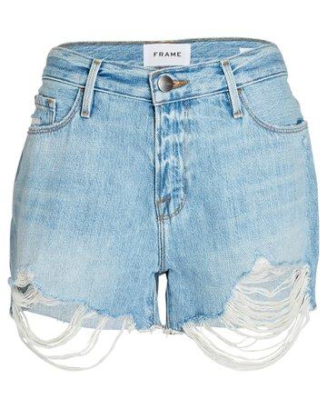 FRAME Le Cut-Off Denim Shorts | INTERMIX®