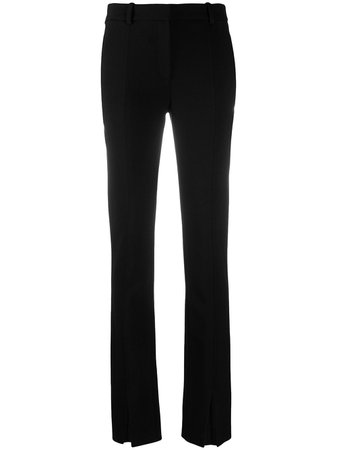 Victoria Beckham Tailored Front Split Trousers - Farfetch
