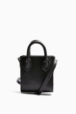 JAX Black Micro Mini Tote Bag | Topshop