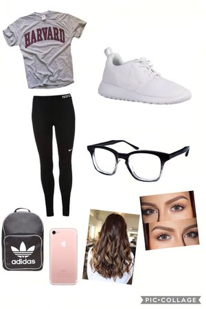 cute and fashion outfit idea for 7th grade middle school