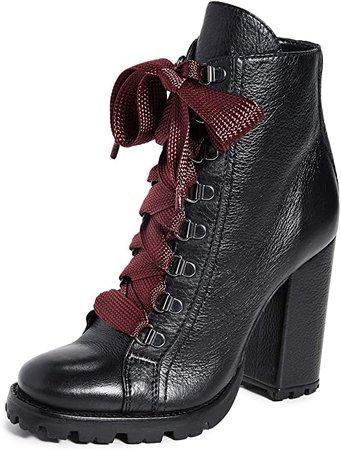 Amazon.com   SCHUTZ Women's Zara Lug Sole Boots, Black, 5 Medium US   Ankle & Bootie