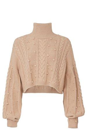 Crop Cozy Sweater by Nicholas