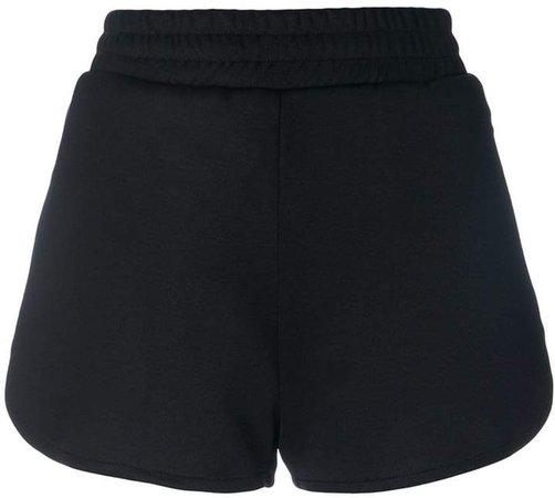 banded runner shorts