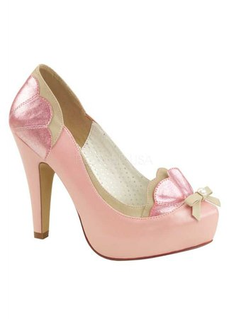PIN UP COUTURE // Bettie 20 Pink Heel