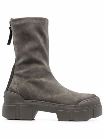 Vic Matie chunky sole ankle boots - FARFETCH