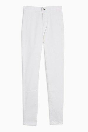 Opaque White Joni Jeans | Topshop