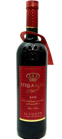 *clipped by @luci-her* STELLA ROSA RED - Old Town Tequila