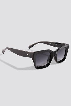 Square Frame Sunglasses Black | na-kd.com