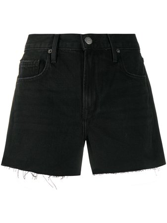 FRAME Le Brigette Denim Shorts - Farfetch