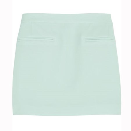 Mint-Green Mini-Skirt (Alexander Wang)