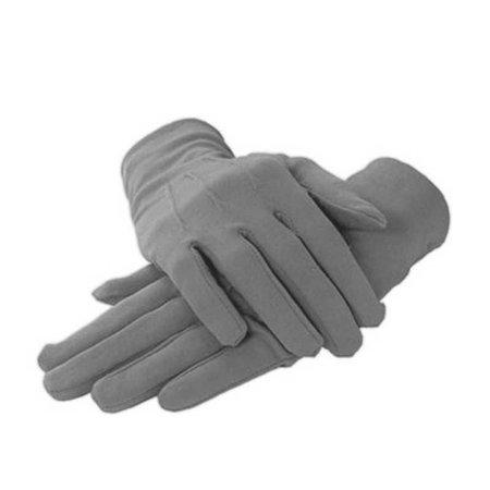 Grey Nylon Dress Gloves