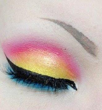 Pansexual Eyeshadow