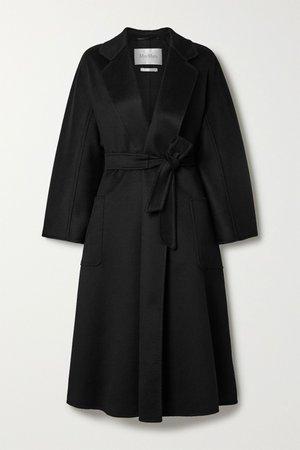 Black Labbro belted cashmere coat | Max Mara | NET-A-PORTER