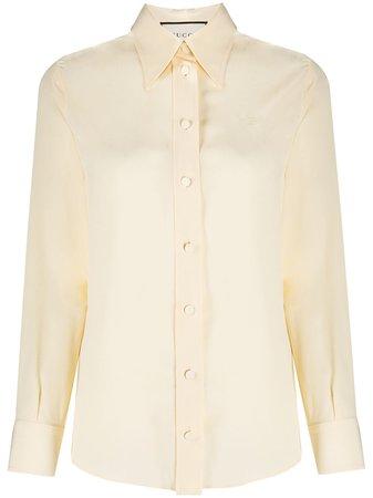 Gucci Collared Shirt - Farfetch