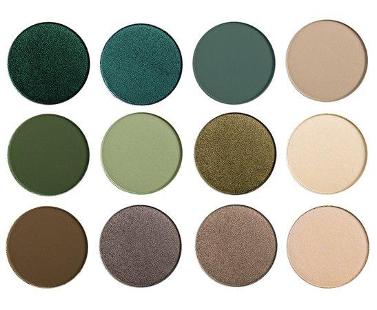 green eyeshadow palette - Google Search