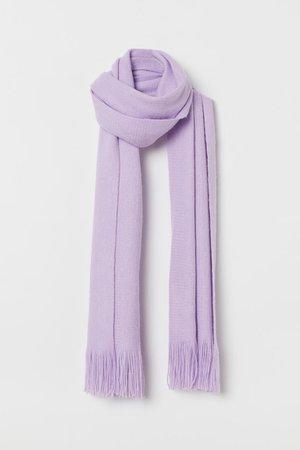 Fringed scarf - Light purple - Ladies | H&M