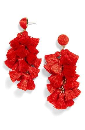 BaubleBar Contessa Tassel Earrings | Nordstrom