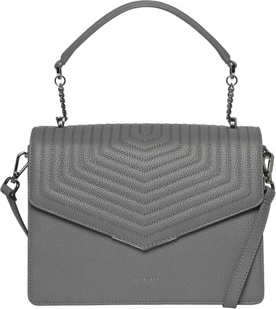 Brittni Top Handle Leather Envelope Bag