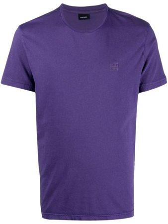 Diesel logo-print cotton t-shirt - FARFETCH