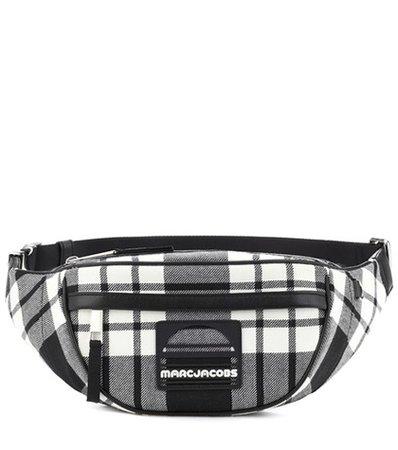 Sport plaid belt bag