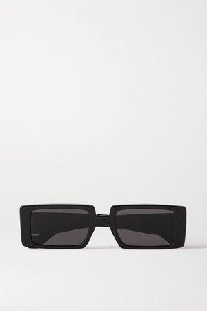 Black Square-frame acetate sunglasses | Loewe | NET-A-PORTER
