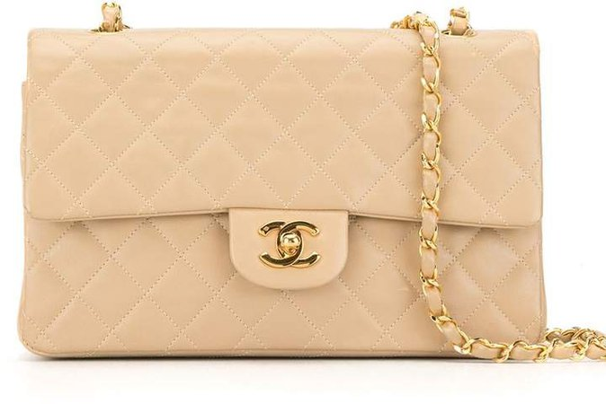 Chanel Pre Owned Double Flap shoulder bag