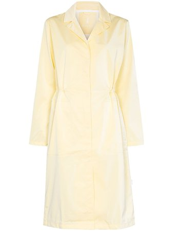 Rains String concealed fastening trench coat - FARFETCH