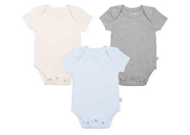 finn + emma baby onesie 3-pack