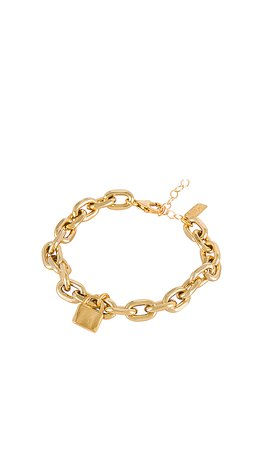 Electric Picks Jewelry Refine Bracelet in Gold | REVOLVE