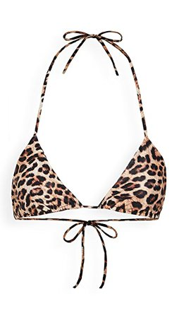 Peixoto Fifi Top bikini animal print | SHOPBOP
