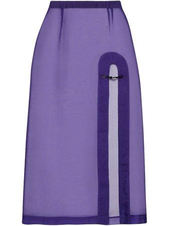 Gucci Open Front Skirt - Farfetch