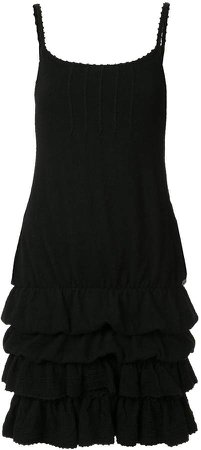 Pre-Owned ruffled camisole dress
