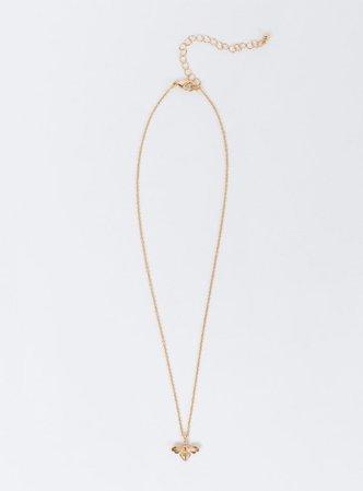 Honey Bee Pendant Necklace | Princess Polly