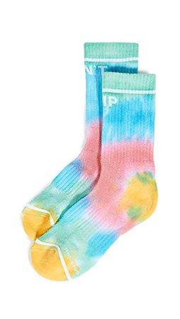 MOTHER Baby Step Socks tie dye | SHOPBOP