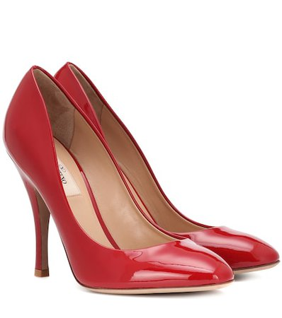 Valentino Garavani Killer Studs patent leather pumps