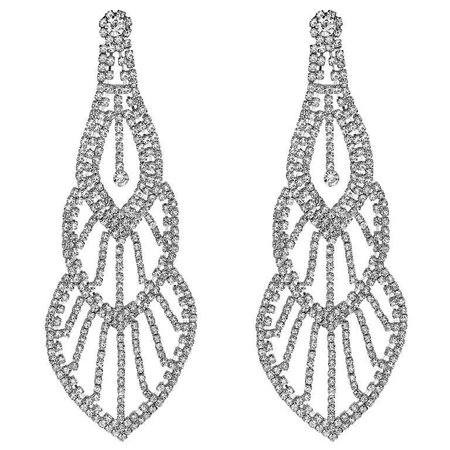 Emilio Jewelry 110.00 Carat Diamond Red Carpet Earrings For Sale at 1stdibs