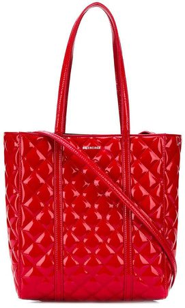 Everyday S quilted tote bag